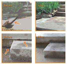 Mudjacking Concrete Leveling In Kansas City Foundation 1
