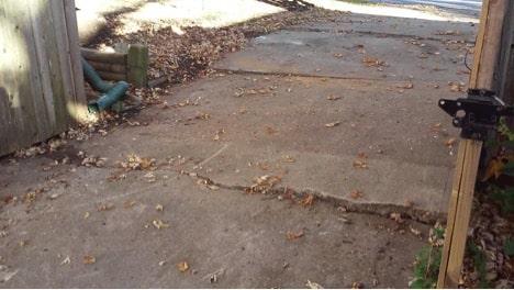 driveway-settling