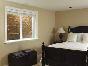 Egress window in bedroom