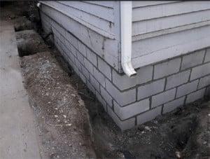Foundation Wall Rebuild