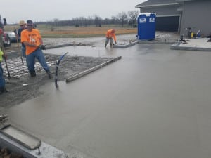 Olathe-Concrete-Foundation-Pour