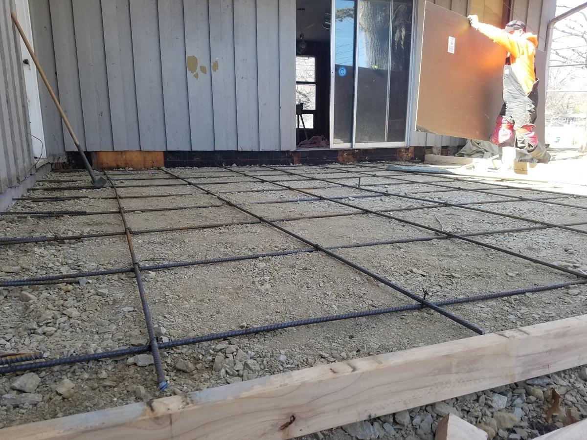 Concrete Job Photos Kansas City Foundation 1