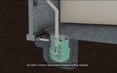 DuraDry Interior Basement Waterproofing – Foundation 1 – 816-682-8440